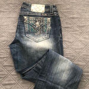 MissMe Signature Boot Jeans-Brand New